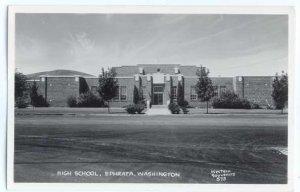 RPPC High School in Ephrata, Washington, WA, EKC Real Photo