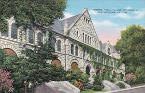 Louisiana New Orleans Gibson Hall Tulane University