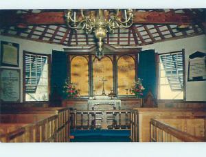 Unused Pre-1980 CHURCH SCENE St. George'S BERMUDA hs6803