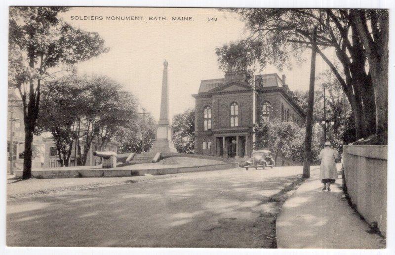 Bath, Maine, Soldiers Monument