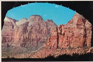 The Sentinel Can Be Seen From The West Portal Of The Zion Tunnel Zion Nationa...