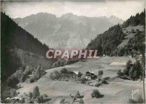 Postcard Modern Aravis Passes Road (Haute Savoie) Gorges Arondine