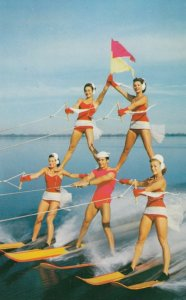 Water-Skiing , Florida , 50-60s ; #8