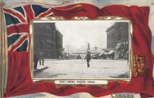 WINDSOR , Ontario , Canada , 1900-10s ; Ferry Landing