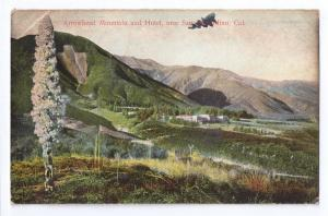 Arrowhead Mountain Hotel San Bernardino CA Rotograph 1906