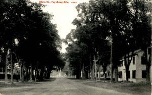 ME - Fryeburg. Main Street