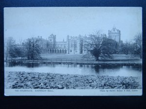 Liverpool KNOWSLEY HALL The Colonnade c1906 Postcard by Brown Barnes & Bell