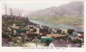 RP: Smelter & Business section of town , TRAIL , B.C. , Canada 30-50s