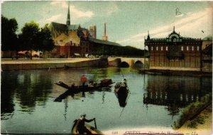 CPA AMIENS - Depart des Hortillons (515252)