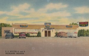 HIGHLAND , Indiana , 1930-40s; Congles Restaurant Lounge, U.S. Routes 41 and 6
