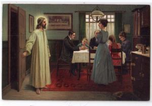 Jesus at Dinner - Komm Herr Jesus Sei Unser Gast !