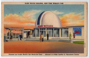 Elgin Watch Building NY Worlds Fair