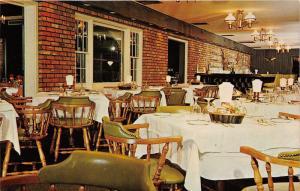 Englishtown New Jersey~Battleground Country Club Restaurant Dining Room~1950s PC