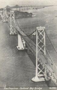 RP: SAN FRANCISCO, CA, 1930-40s ; SF-Oakland Bridge ; ZAN 2001