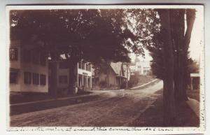 P244 JL old real photo postcard thavers corner williamsburg