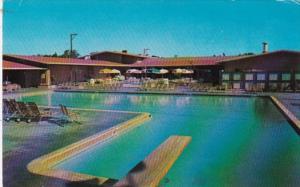 California Sam Mateo Elks Lodge #1112 Swimming Pool and Terrace 1977
