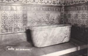 Mexico Bano de Carlota Bathtub Photo