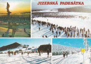 Czech Republic Jizerska Padesatka Multi View Skiing