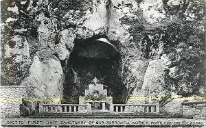 RPPC of Grotto First Unit Sancturary of Our Sorrowful Mother Port