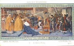 Basilique de Domremy, France, Carte, Postcard
