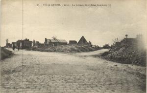 CPA Vis-en-Artois - 1920 - La Grande Rue (Arras-Cambrai) (172409)