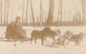 RP: PORCUPINE , Ontario , Canada , 1912 ; Dog Team Close-up