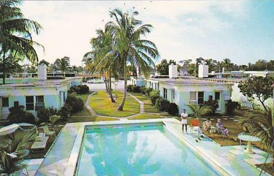 Florida Fort Laudersale Sun Colonist Motel With Pool