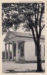 Michigan Dearborn Town Hall School Greenfield Village