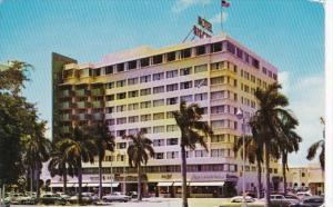 Florida Miami Beach The Biscayne Terrace Hotel 1955