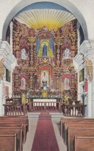 TUCSON , Arizona , 30-40s ; Mission San Xavier Del Bac , Interior