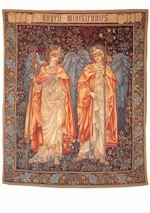 Angeli Ministrates - Tapestry