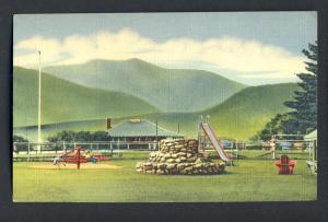 No. Conway,New Hampshire/NH Postcard, Playground/Golf Course