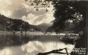 RP: Rouge River at GOLD BEACH , Oregon , 1920s ; Patterson Photo