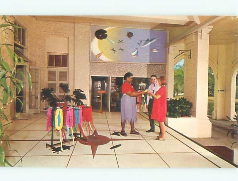 Pre-1980 SOUVENIR SALES AT GRAND PACIFIC HOTEL Suva FIJI W5422
