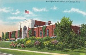 Iowa Fort Dodge Municipal Water Works Curteich