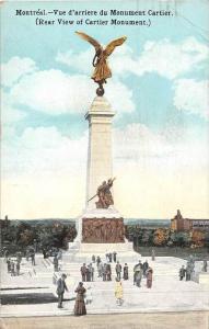 4471 Montreal-Vue d´arriere du Monument Cartier (Rear View of Cartier Monument)