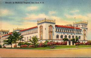 Puerto San Juan School Of Tropical Medicine 1941 Curteich