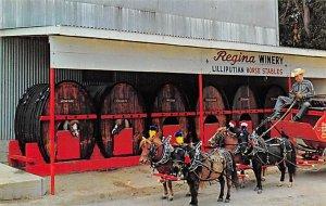 Regina Winery World's Smallest Horse Hitch Brewery Unused