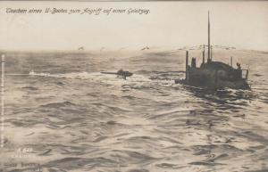 RP: U-Boat (Submarine) on surface , 00-10s