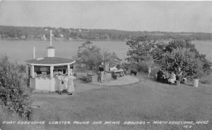 North Edgecomb Maine~Fort Edgecomb Lobster Pound & Picnic Grounds~RPPC