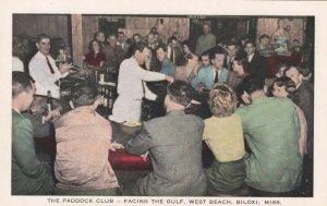 BILOXI , Mississippi, 1930-40s ; The Paddock Club