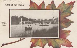 TORONTO , Ontario , Canada , 1910 ; Bridge , Island Park