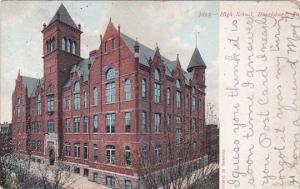 High School Harrisburg Pennsylvania 1908