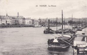 NAMUR, Belgium, 1900-1910's; La Meuse