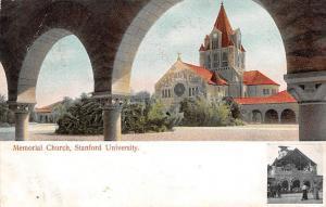 Stanford University, Memorial Church 1906