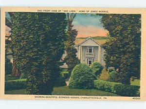 Unused Linen HISTORIC HOME Charlottesville Virginia VA d0849