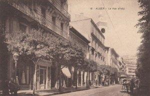 ALGER , 00-10s ; La rue d'Isly