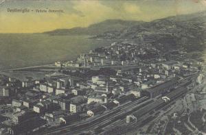 Ventimiglia , Liguria, Italy, 00-10s : Veduta generale / Train yards