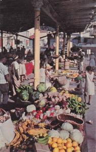Native Market, St. Thomas, US Virgin Islands, 1940-1960s