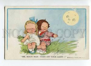 264894 Kids in MOON Light by WIEDERSEIM Drayton Vintage PC